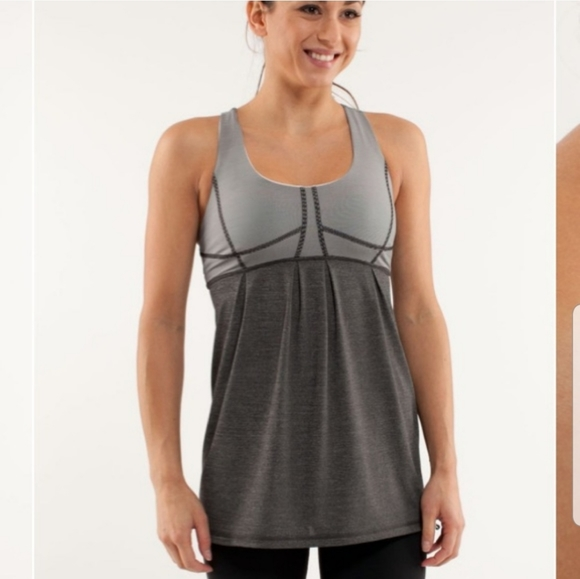Lululemon Run your heart out tank size 6